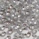 Value Pack 50g 4mm Metallic Silver Semi-cupped  Round Sequins.